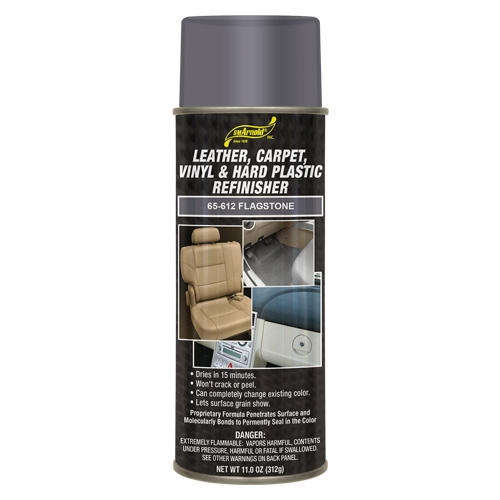 SM Arnold Leather, Vinyl & Hard Plastic Refinisher, Flagstone - 11 oz. aerosol