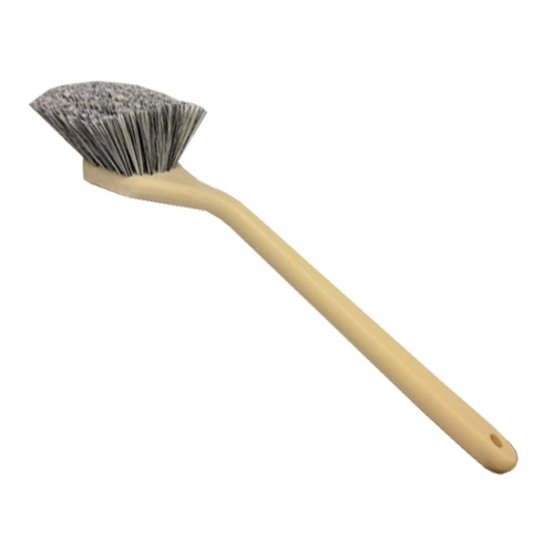 SM Arnold Angled Head Soft Body Brush w/ Salt & Pepper Polystyrene Bristles - 20 inch