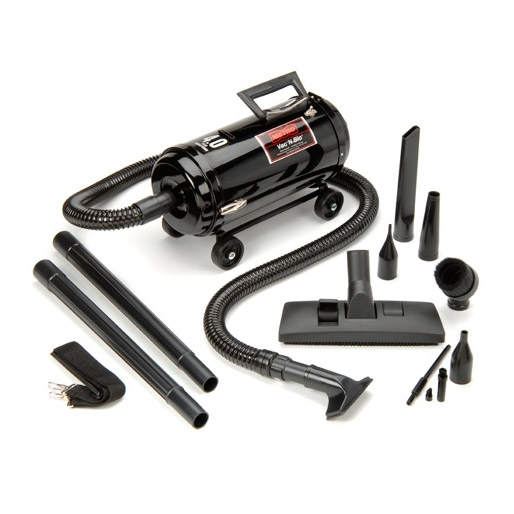 Metro Vac 'N Blo Compact Car Vacuum/Blower (w/ Wheel Dolly)