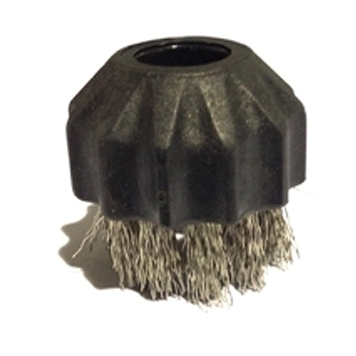Vapor Systems Round Steel Brush - 1 inch