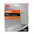 3M Trizact Hookit Foam Sanding Disc, 3000 grit, 01459 - 6 inch