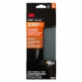3M Wetordry Sandpaper, 2000 grit, 03003 - 3-2/3 in. x 9 in. (5 sheets)
