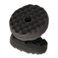 3M Perfect-It Foam Polishing Pad, Double Sided Quick Connect, 33285, Black - 6 inch