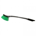 SM Arnold Ultra Soft Body Brush w/ Green Nylon Bristles - 20 inch
