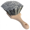 SM Arnold Soft Body Brush w/ Black/White Polystyrene Bristles - 8.5 inch