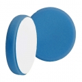 Buff and Shine Beveled Face Foam Light Polishing Pad, Blue - 6 inch