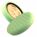 Buff and Shine Center Ring Hex Face Foam Polishing Pad, Green - 7.5 inch