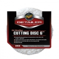 Meguiar's DA Microfiber Cutting Discs, DMC6 - 6 inch (2 pack)
