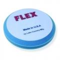 Flex Beveled Edge Foam Compounding Pad, Blue - 6.5 inch