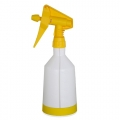Kwazar Mercury Pro+ Spray Bottle, Dual Action Trigger, Yellow - 1.0 Liter