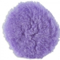 Lake Country Purple Foamed Wool Buffing/Polishing Pad - 7.5 inch