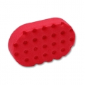 Lake Country CCS Foam Wax/Sealant Pad, Red - Hand Applicator