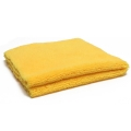 Super Plush Edgeless Microfiber Towel, 360 GSM, Yellow - 16 in. x 16 in.