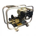 Pressure Pro Gas Skid Mount (w/roll cage) Pressure Washer Assembly, Honda GX200 Engine, AR Pump, 2700 PSI, 3.0 GPM. Includes Gun/Lance, 50' Hose, Reel and Tips