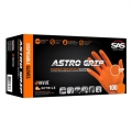 SAS Astro Grip Powder Free Nitrile Gloves, 6 mil., Orange - Medium (box of 100)