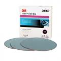 3M Trizact Hookit Foam Sanding Discs, 5000 grit, 30662 - 6 inch (box of 15)