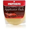 Mothers Microfiber Foam Core Ultra-Soft Applicator Pads (2 pack), 156500