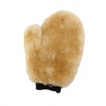 Carrand Sheepskin Wash Mitt, 7-inch x 10-inch