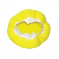 AutoSpa Yellow Foam Application Bonnet for 5-6 inch Orbital Polishers