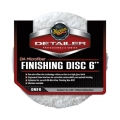 Meguiar's DA Microfiber Finishing Disc, 6 in. (2 Pack)