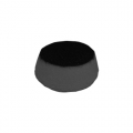 Flex Black Foam Finishing Pad - 1 inch