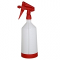 Kwazar Mercury Pro+ Spray Bottle w/ Dual Action Trigger, Red - 1.0 Liter