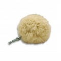 Lake Country Wool Polishing Ball with Drill Chuck - 3 inch