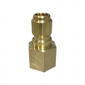 MTM Hydro Brass Quick Connect Plug, 3/8 inch Female