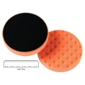 Lake Country CCS Cutback DA Foam Light Cutting Pad, Orange - 6.5 inch