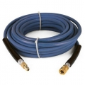 Pressure Pro High Pressure Hose w/ Quick Connects - 3/8 in. x 50 ft, BLUE