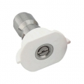 Pressure-Pro High Pressure Spray Tip - White, 40-degree spray angle