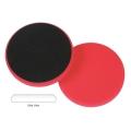 Lake Country Flat Cutback DA Foam Wax/Sealant Pad, Red - 6.5 inch
