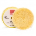 Rupes Wool Polishing Pad, Yellow/Medium - 170mm (6 inch backing)