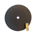 SM Arnold Speedy Black Foam Polishing Pad - 9 inch
