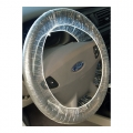 SM Arnold Disposable Steering Wheel Covers, .8 mil, clear (250 pack)