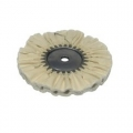 Zephyr Cotton Buffing Wheel, Cotton Muslin 60-Ply - 8 inch