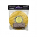 Zephyr Yellow Airway Buff with 1 lb. Yellow Rouge Bar (Primary Cutting) for Aluminum and Stainless Steel