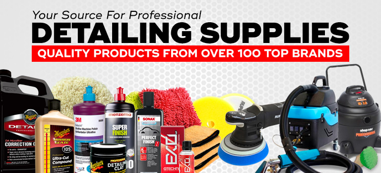 Car Detailing Supplies >> Auto Detailing Supplies Chemicals Equipment Accessories And More