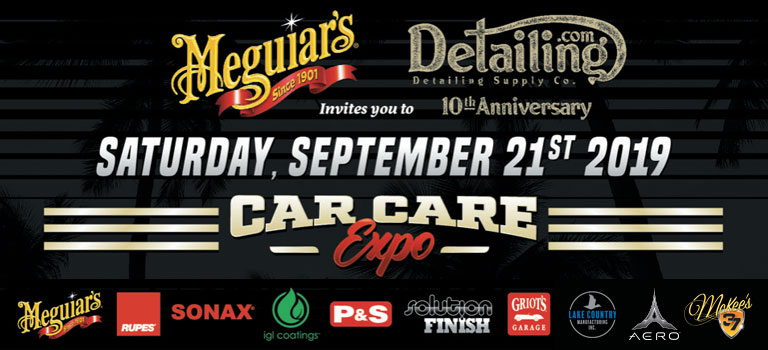 10 Year Anniversary Car Care Expo