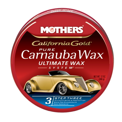 Mothers California Gold Carnauba Wax Ultimate Wax System