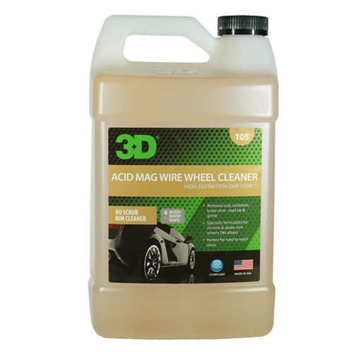 3D Acid Mag Wire Wheel Cleaner - 1 gal.