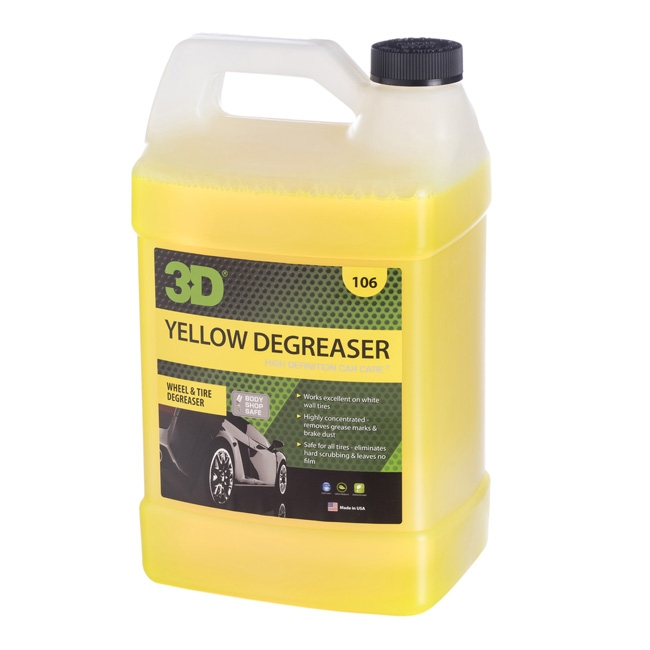 3D Yellow Degreaser - 1 gal.