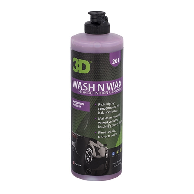 3D Wash N Wax - 16 oz.