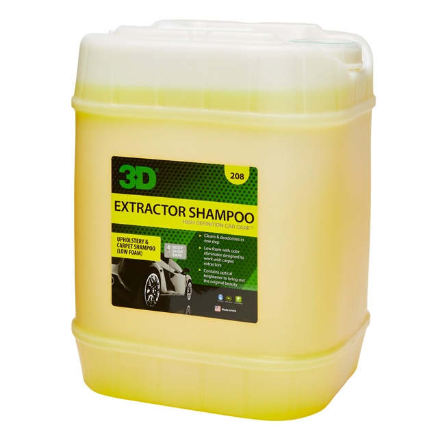 3D Extractor Shampoo - 5 gal.