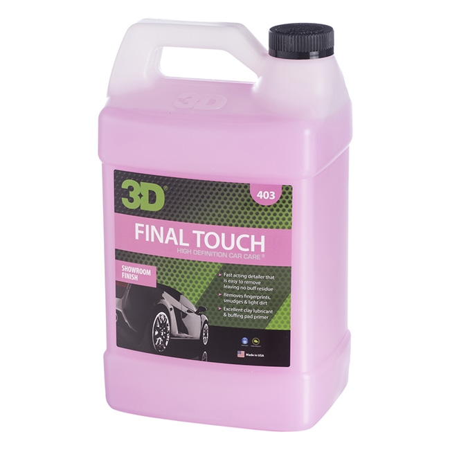 3D Final Touch Quick Detailer - 1 gal.