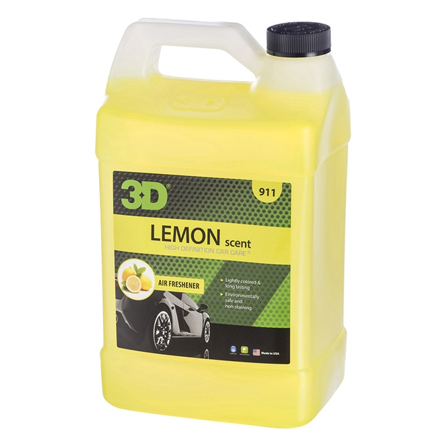 3D Air Freshener, Lemon Scent - 1 gal.