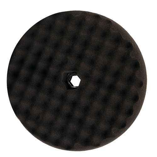 3M Perfect-It Black Foam Polishing Pad, Double Sided, Quick Connect, 05707 - 8 inch