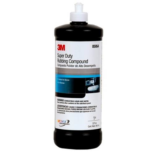 3M Super Duty Rubbing Compound, 05954 - 32 oz.