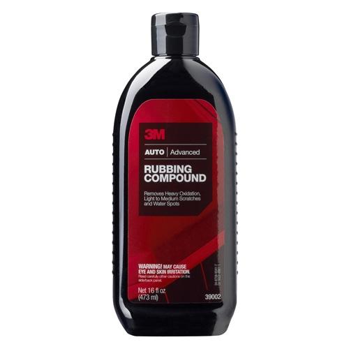 3M Rubbing Compound, 39002 - 16 oz.