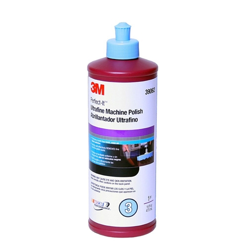 3M Perfect-It Ultrafine Machine Polish, 39062 - 16 oz.